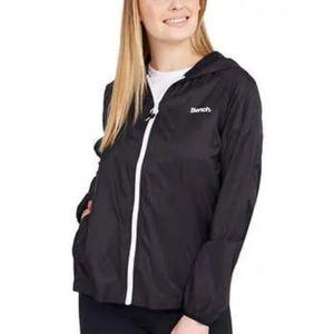 Black Bench Packable Windbreaker Jacket